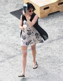 "Jena Malone | On the Set of ""The Hunger Games"" in Atlanta 