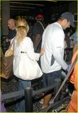 Jessica Simpson leaving Honolulu International Airport