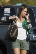 Haylie Duff- Leggy in Shorts at Vons in Los Angeles 03/18/10- 14 HQ