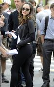 Katharine McPhee - on the set of Smash in New York 09/14/12