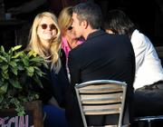 Alice Eve Out & About with friends (07/29/10)
