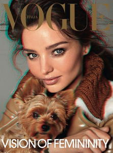 Miranda Kerr topless Louis Vuitton photo Vogue 3D
