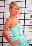Paris Hilton shows cleavage at MTV Video MusicAwards in Japan